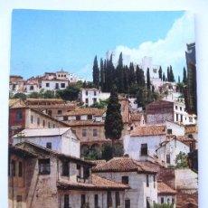Postales: ANTIGUA POSTAL DE GRANADA - CALLE TIPICA PZA DEL REALEJO - EDITADO POR FRANCISCO GALLEGOS - Nº 111. Lote 29213906