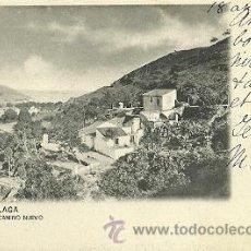 Postales: MALAGA POSTAL CIRCULADA CAMINO NUEVO . Lote 29313183