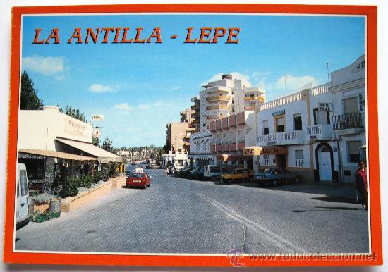 ANTIGUA POSTAL DE HUELVA - LA ANTILLA - LEPE - VISTAL PARCIAL - EDICIONES ARRIBAS - Nº 18 (Postales - España - Andalucia Moderna (desde 1.940))