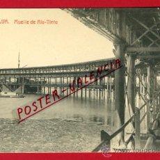 Postales: POSTAL HUELVA , MUELLE DE RIO TINTO , P66102. Lote 29351278