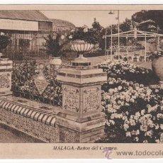 Postales: POSTAL DE LOS BAÑOS DEL CARMEN DE MÁLAGA. FOTO L. ROISÍN. Lote 29585691