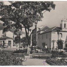 Postales: BONITA POSTAL DE LA PLAZA DE LA VICTORIA DE MÁLAGA. ED. DOMÍNGUEZ. . Lote 29589809