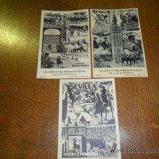 Postales: 3 POSTALES ANTIGUAS DE SEVILLA. Lote 29602325