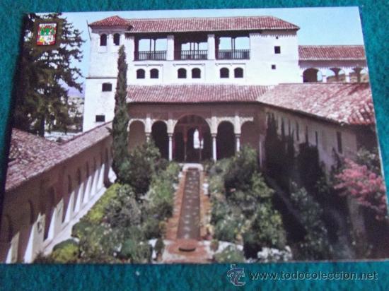 GRANADA-D10-GENERALIFE- (Postales - España - Andalucia Moderna (desde 1.940))
