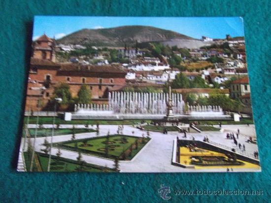 GRANADA-D10-FUENTE MONUMENTAL DEL TRIUNFO-ESC-68 (Postales - España - Andalucia Moderna (desde 1.940))