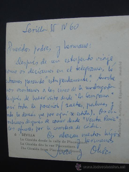 Postales: DETALLE TEXTO Y FECHA - Foto 4 - 29690914