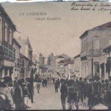 Postales: LA CAROLINA (JAÉN).- CALLE SAGASTA. Lote 29760329