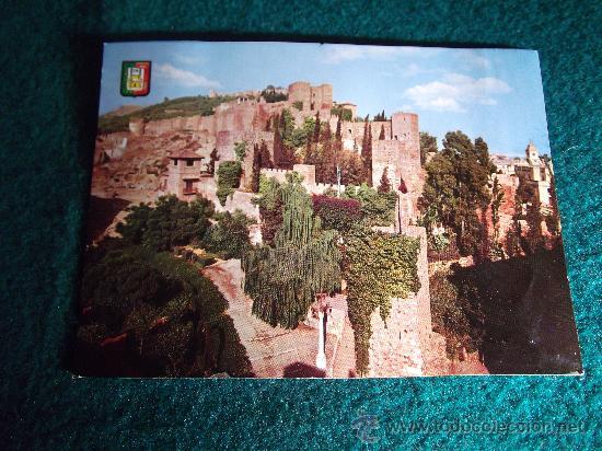 MALAGA-D21-ALCAZABA- (Postales - España - Andalucia Moderna (desde 1.940))