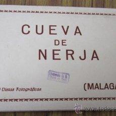 Postales: 10 POSTALES .. SOBRE ACORDEÓN .. CUEVAS DE NERJA – MÁLAGA. Lote 29919375
