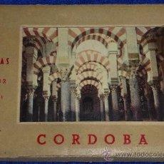 Postales: 10 VISTAS A COLOR - CORDOBA - EDICIONES E.P.ROSETTE. Lote 29947314