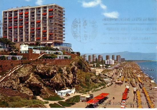 Nº 9496 TORREMOLINOS MALAGA APARTEMENTOS TORRE DE LA ROCA (Postales - España - Andalucia Moderna (desde 1.940))