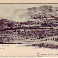 Postales: HUELVA -MINAS DE RIO TINTO. CALCINACION - PAPELERIA INGLESA Nº 3. Lote 30078872