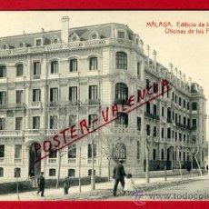 Postales: POSTAL, MALAGA, OFICINAS DE LOS FERROCARRILES ANDALUCES ,ORIGINAL , P66833. Lote 30112496