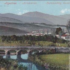 Postales: ALGECIRAS: ALREDEDORES. BONITA TARJETA POSTAL NUM. 12 DE J. FERRARY & CO.. Lote 30154421