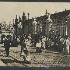 Postales: SEVILLA - SEMANA SANTA - COFRADIA DE LAS CIGARRERAS A LA PUERTA DE ...- FOT.ERNESTO (8716). Lote 30169072