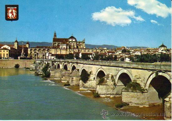 CÓRDOBA - 778 PUENTE ROMANO, AL FONDO VISTA PARCIAL (Postales - España - Andalucia Moderna (desde 1.940))