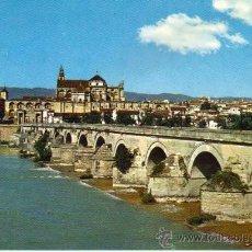 Postales: CÓRDOBA - 778 PUENTE ROMANO, AL FONDO VISTA PARCIAL. Lote 30173150