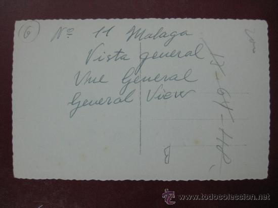 Postales: MALAGA, VISTA GENERAL - POSTAL FOTOGRAFICA - Foto 2 - 30386503