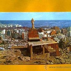 Postales: POSTAL ALMERÍA MONUMENTO AL SAGRADO CORAZÓN ED GARCÍA GARRABELLA AÑOS 70 SIN CIRCULAR. Lote 30456833