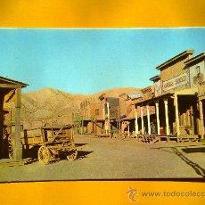 Postales: POSTAL ALMERÍA ESTUDIOS CINEMATOGRAFICOS POBLADO DEL OESTE AMERICANO Nº 1021 AÑOS 70 SIN CIRCULAR. Lote 30457094
