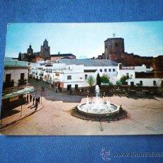 Postales: POSTAL SEVILLA UTRERA PLAZA SANTA ANA ESCRITA. Lote 30439734