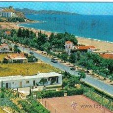 Cartes Postales: POSTAL TORREBLANCA DEL SOL FUENGIROLA MALAGA ( CIRCULADA AÑO 67 ). Lote 30446886
