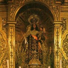 Postales: SAN FERNANDO, CÁDIZ, VIRGEN DEL CARMEN CORONADA PATRONA. Lote 30474017