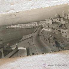 Postales: POSTAL FOTOGRAFICA DE CADIZ - AVDA DE PRIMO DE RIVERA - ED. AISA - CIRCULADA. Lote 30699089