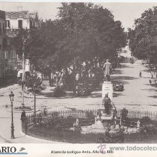 Postales: FASCIMIL 31X21 POSTAL MALAGA. ALAMEDA (ANTIGUA AVDA. ALFONSO XIII). Lote 30709285