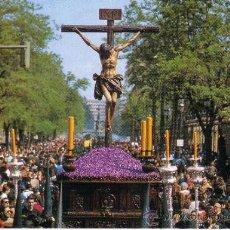Postales: SEVILLA - SEMANA SANTA - SANTISIMO CRISTO DE LA BUENA MUERTE - HERMANDAD DE LOS ESTUDIANTES. Lote 30762789