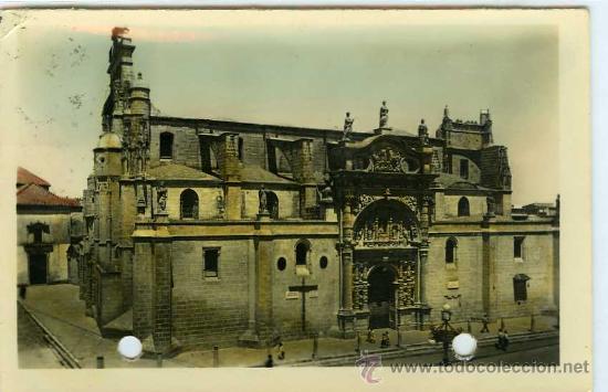 POSTAL PUERTO DE SANTA MARIA IGLESIA MAYOR PRIORAL (Postales - España - Andalucia Moderna (desde 1.940))