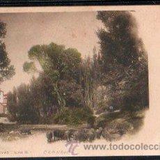Postales: TARJETA POSTAL DE GRANADA, EL RÍO JAYENA, COLECCIÓN CÁNOVAS. Lote 30906585