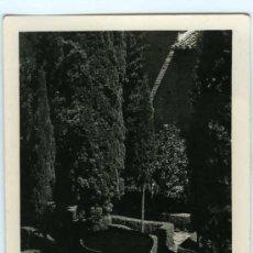 Postales: POSTAL GRANADA JARDIN DE LINDARAJA. Lote 30930740