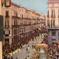 Postales: MALAGA ANTIGUA POSTAL AÑO 1963 SEMANA SANTA. Lote 30977651