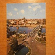Postcards - POSTAL SEVILLA VISTA PARCIAL Y PLAZA DE CUBA CIRCULADA - 30992102