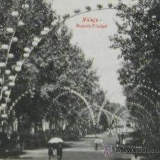 Postales: RARA POSTAL DE MALAGA CAPITAL 1910 - ALAMEDA PRINCIPAL - EDITORIAL DOMINGO RIAL DEL RIO . Lote 31009270