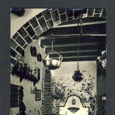 Postales: POSTAL DE GRANADA: HOTEL VERSALLES, UN RINCON DE LA ENTRADA (SIN EDITOR). Lote 31090767