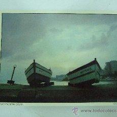 Postales: POSTAL GRANDE BENALMADENA COSTA - 1987 - NO CIRCULADA - PUESTA DE SOL - . Lote 31162164