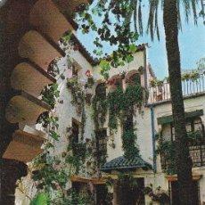 Postales: 1028 CORDOBA PATIO TIPICO CONCURSO DE PATIOS CORDOBESES (SIN CIRCULAR) . Lote 31169644