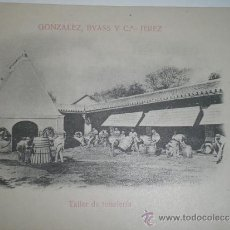 Postales: JEREZ.- GONZÁLEZ, BYASS Y C.ª. TALLER DE TONELERÍA.TARJETA POSTAL SIN CIRCULAR.. Lote 30955007