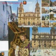 Postales: 6 POSTALES DE JAEN -AÑO 1967. Lote 31306585