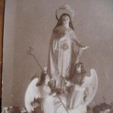 Postales: VIRGEN CARMONA SEVILLA.POSTAL FOTOGRAFICA. Lote 31331981