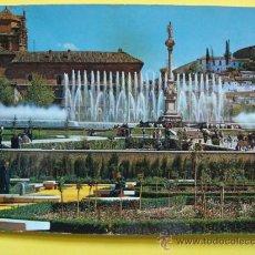 Postales: POSTAL DE GRANADA, ANDALUCÍA. AÑO 1961. FUENTE MONUMENTAL DEL TRIUNFO. 2042 ARRIBAS. 292. . Lote 31607113