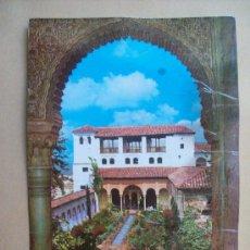 Postales: GRANADA, GENERALIFE, PATIO DE LA ACEQUIA. N° 1074. Lote 31749374