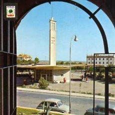Postales: HUELVA Nº 1356 CUESTA DE SAN CRISTÓBAL Y SURTIDOR CAMPSA A. SUBIRATS ESCRITA CIRCULADA SELLO. Lote 31774660