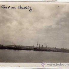 Postales: POSTAL FOTOGRÁFICA. CÁDIZ. EL PUERTO. SIN CIRCULAR.. Lote 31845031