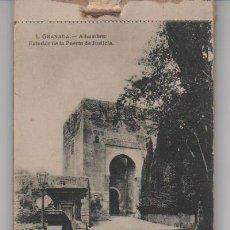 Postales: LIBRITO COMPLETO 20 POSTALES DE GRANADA. ED. ABELARDO LINARES. Lote 31967125