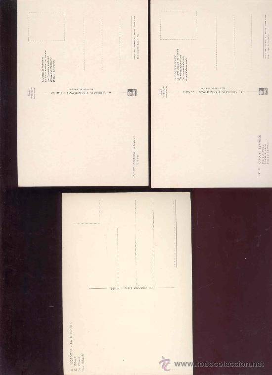 Postales: LOTE 3 POSTALES INTERIOR DE LA MEZQUITA DE CORDOBA (SIN CIRCULAR) - Foto 5 - 31939963