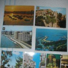 Postales: LOTE 7 POSTALES, MALAGA - SIN CIRCULAR. Lote 32008296
