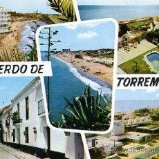 Postales: TARJETA POSTAL 1962 -POST- MÁLAGA / TORREMOLINOS - DOMINGUEZ Nº 30. Lote 32020761